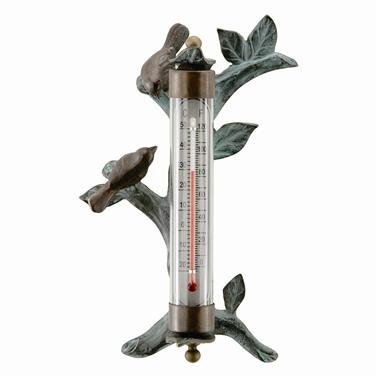 SPI Home 33315 Lovebird Wall Mounted Thermometer