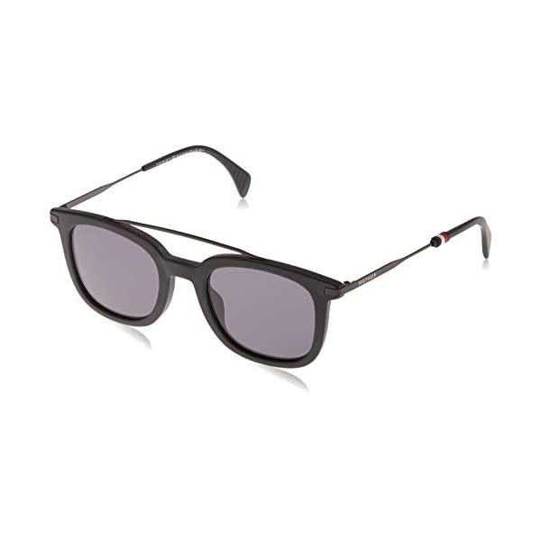 Tommy Hilfiger Th 1515/S Ir 807 49 Occhiali da sole, Nero (Black/Grey Grey), Uomo