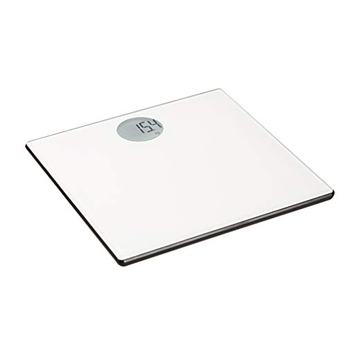 AmazonBasics Body Weight Scale - Auto On/Off Function, Off-White