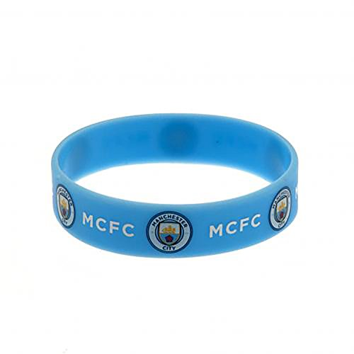 Official Licensed Manchester City F.C - Silicone Wristband by Official Licensed