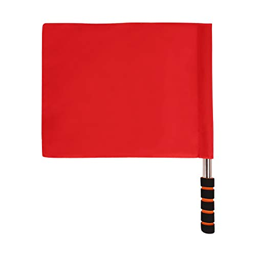JINTN Signal Flags for Referee Warning Flag Signal Traffic Warning Flag Commander Flag Safety Flags Roadside Safety Flags -