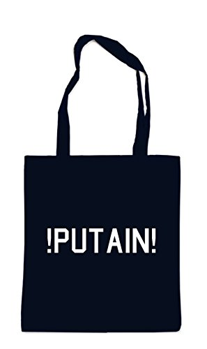 ! ! Putain ! Putain! Bolsa Negro Black Bag