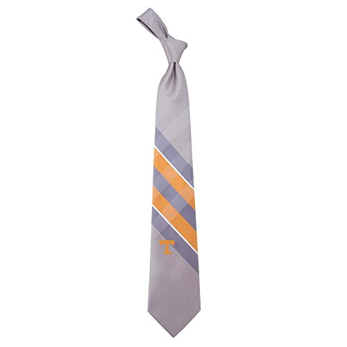 Tennessee Volunteers Grid Neck Tie with NCAA College Sports Team Logo