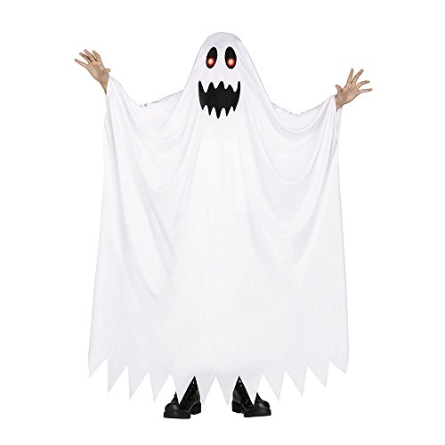 [Fade In Out Ghost Costume - Large] (Childrens Ghost Costume)