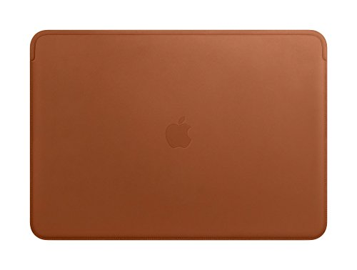 (Apple Leather Sleeve (for MacBook Pro 15-inch Laptop) - Saddle Brown)