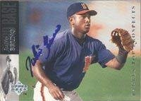 Julio Bruno San Diego Padres 1993 Upper Deck SP Top Prospects Autographed Card - Minor League Card. This item comes with a certificate of authenticity from Autograph-Sports. - The San Shop Bruno