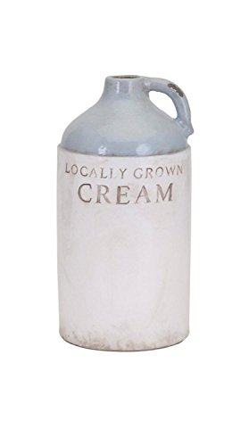 CC Home Furnishings LOCALLY GROWN CREAM Small Milk Jug (Jug Small Cream)