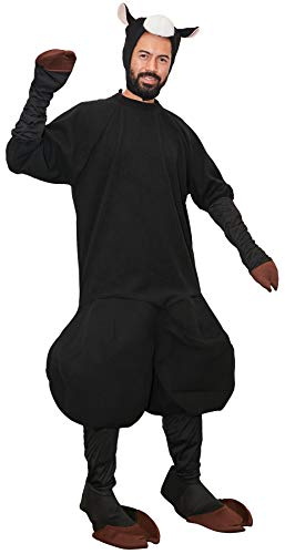 Adult Black Sheep Halloween Costume -
