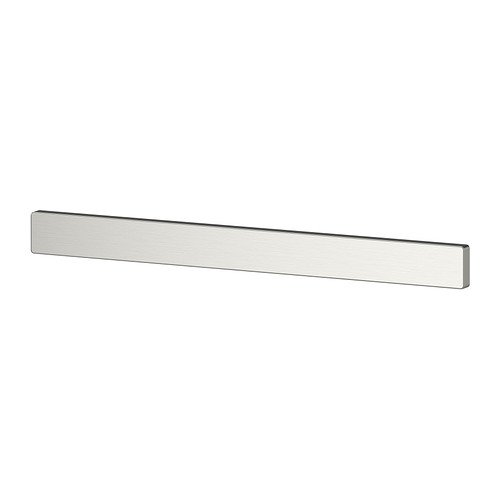 Ikea Stainless Steel Magnetic Knife Rack 602.386.45, 15.75 Inch, (Stainless Steel Magnetic Knife Bar)