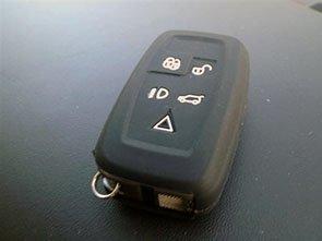 /à 5/boutons, noir /Étui en silicone de qualit/é pour porte-cl/és intelligent de type t/él/écommande