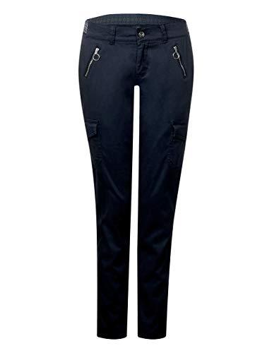 Donna Pantaloni 11238 Blue Blu One Street deep aZqzxz