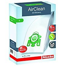 Miele Type U AirClean FilterBags, S7000-S7999