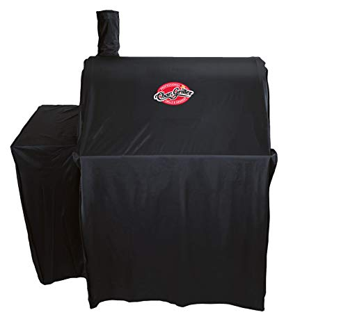 Char-Griller 5555 Grill Cover, Black