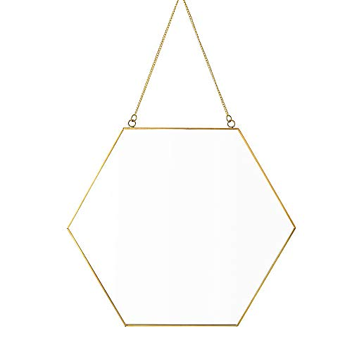 Dahey Hanging Hexagon Mirrors Bathroom