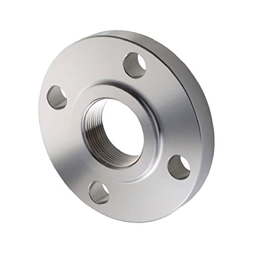 (Stainless Steel 304/304L Pipe Fitting, Flange, Threaded, Class 150, 3/4