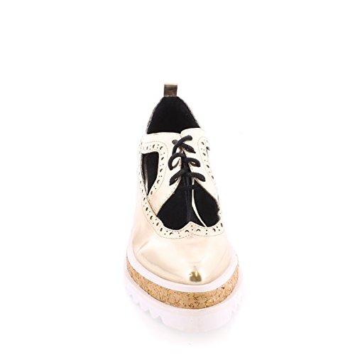 SEVEN Basse 77924 Oro Stringate Scarpe Oro SIXTY Grigio Brogue Donna Blanco gdOpx