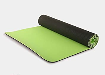 YROAR 6mm unscented Long Yoga Mat TPE Yoga Mat Women Plus ...