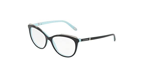 Tiffany 0TF2147B-8055 BLACK BLUE -54mm womens at Amazon Men s Clothing  store  083b35c166