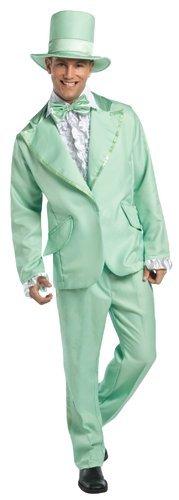 Mens Funky Green Tuxedo Adult Costume STD (Funky Tuxedo Adult Men Costume)