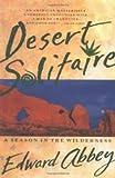 Desert Solitaire Publisher: Touchstone; Reprint edition edition