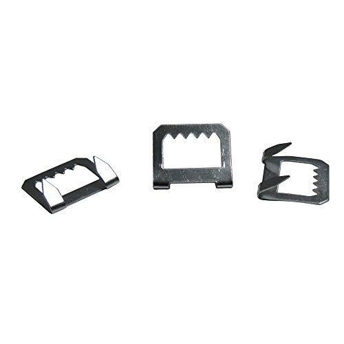 Foam Board Hangers Metal Sawtooth - 100 Pack