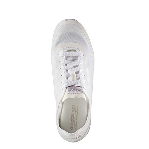 adidas CLOUDFOAM GROOVE TM W - Zapatillas deportivas para Mujer, Blanco - (FTWBLA/FTWBLA/GRMEVA) 41 1/3