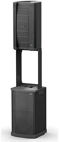 Bose F1 Model 812 Flexible Array System Loudspeaker and Subwoofer Bundle with Shure Microphone, 15ft Cable and Accessories 6 Items