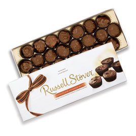 Russell Stover Chocolate Covered Nuts, 10 oz. Box