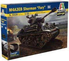 Carson 510006529 - 1: 35 m4 a3e8 sherman, Fury, Shield