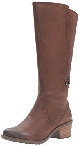 Teva Women's W Foxy Tall Leather Boot - Brown - 10 B(M) US
