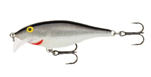 Rapala Scatter Rap Shad Lure, Silver, 7cm