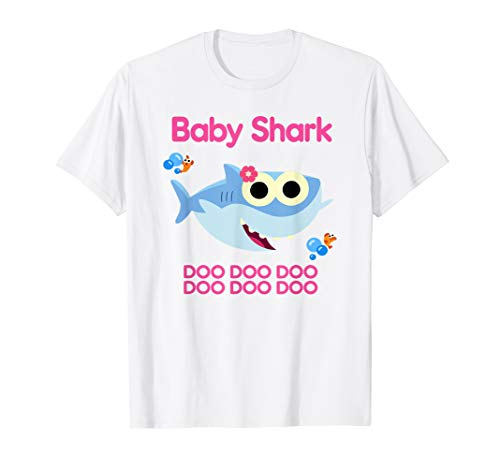 Kids Funny Baby Shark Doo doo doo T-shirt gift for Kids Boys