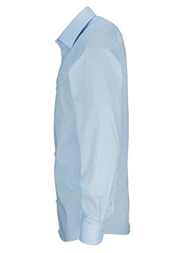 OLYMP Level Five body fit Hemd Langarm New Kent Stretch hellblau