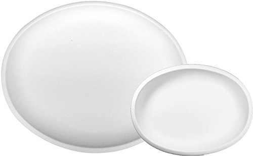 Madison Oval Serving Dishes - Set of 2 - Fusible Glass Slumping - Glass Stained Mold