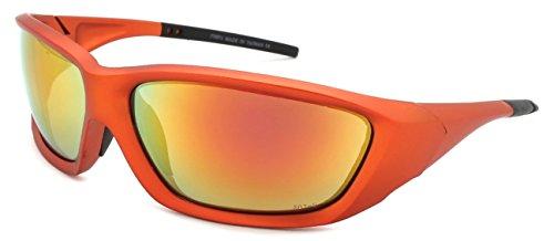 afety Sunglasses ANSI Z87+ Color Mirror Lens 570071/REV-3(AMOR.r) ()