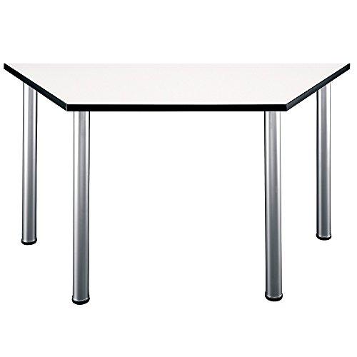 Bush Business Furniture Aspen Trapezoid Table