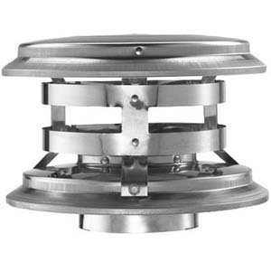 179903 3'' Universal Cap Pellet Vent