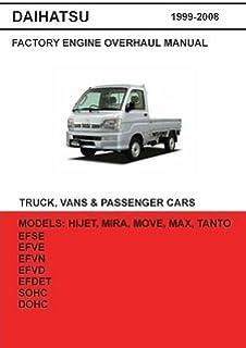 daihatsu hijet english electrical service manual s200p s210p s320v rh amazon com Daihatsu Hijet Parts Dealers Daihatsu Delta Truck
