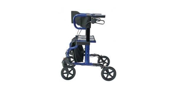 Amazon.com: Lumex Hybridlx Andador con ruedas silla de ...