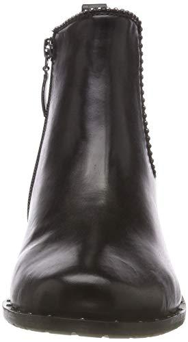 Schwarz Femme 10 Calla WEBER Noir Bottines GERRY 100 wq8RI