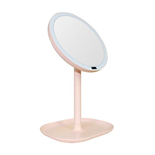 Makeup mirror 30 LED, 5X/7X Magnifying Glass Facial Intelligent Induction 360 °Rotating -