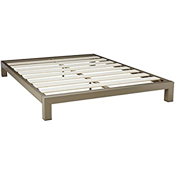 Amazon.com: In Style Furnishings Stella Metal Platform Bed Frame ...