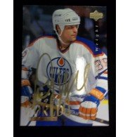 Powers Collectibles Signed Weight, Doug (Edmonton Oilers) 1995 Upper Deck Hockey Card autographed