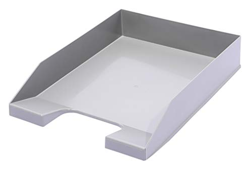A4 Blue Angel Stackable Letter Tray Grey Pack of 6