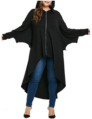 Pastel Coat Rack - KCatsy Blouse Cover-Ups Sarongs Plus Size Long Sleeve Dressing Gowns Black Long Dress Batwing Sleeve High Low Coat