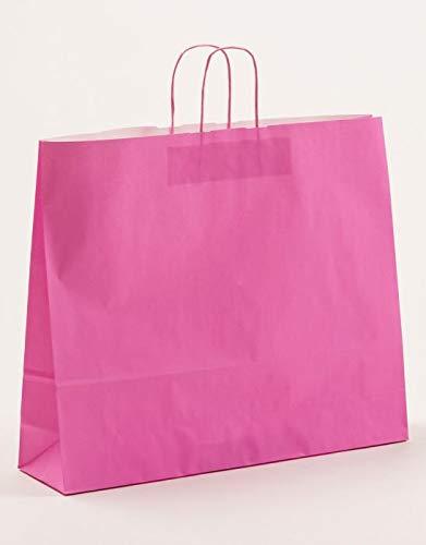 XXL grandes bolsas de papel color rosa 54 x 14 x 45 cm VE ...