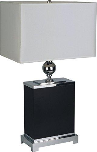 SH Lighting  Table Lamp - 31123(U), Square, Black/ Chrome