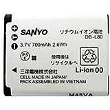 SANYO Xacti用 リチウムイオン電池 DB-L80