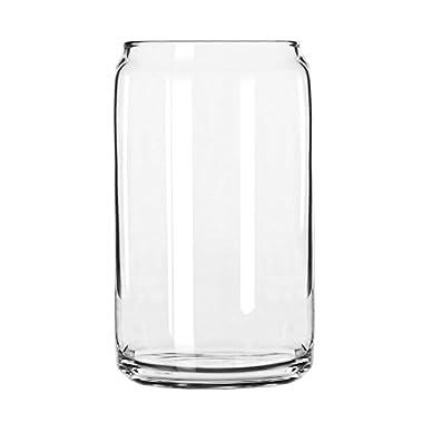 Libbey 209 Sportsware 16 Oz. Glass Can - 24 / CS