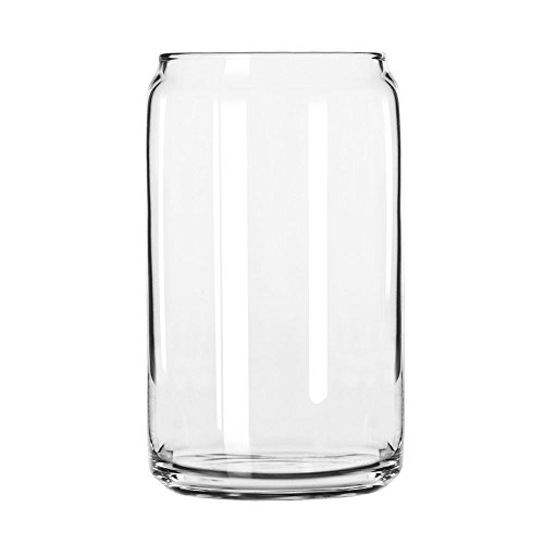 Libbey 209 Glass Can (Set of 24), Clear